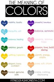 have you ever wondered what colors meant now you can change your