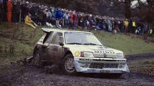 peugeot 205 t16 peugeot 908 lemans prototype and 205 t16 group b going under the