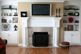 built in bookshelves around tv awesome modern built cabinets