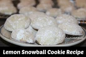 lemon snowball cookie recipe jpg