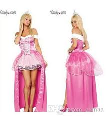 Halloween Princess Costumes Adults Women Fairy Tale Costume Cosplay Dress Crown