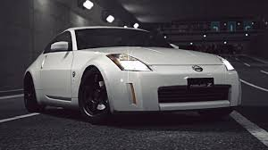 fairlady z white gt6 nissan fairlady z version s z33 u002702 exhaust comparison