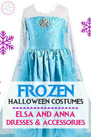 frozen halloween costumes u2013 elsa and anna dresses u0026 accessories