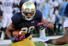 for notre dame u0027s corey robinson football was always just part of