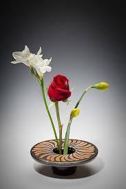 Porcelain Flower Vases Hand Crafted Handmade Porcelain Ikebana Flower Vase Spiral By