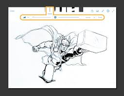 from sketch to marvel comic book adobe photoshop mobile app