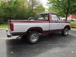 ford truck 1982 1982 ford f150 lariat 4x4 box bed truck