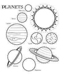 planets coloring pages coloring