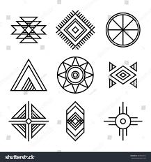 royalty free native american indians tribal symbols u2026 345894719