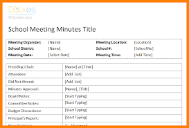 4 meeting notes format monthly budget forms