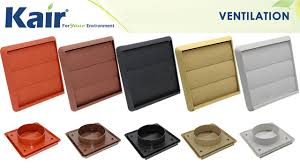plastic ducting for ventilation extractor fan cover gravity grille youtube