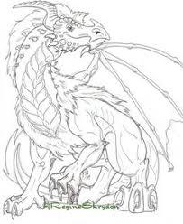 creative haven fantastical dragons coloring book dover