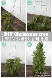 diy christmas tree topiary simple and low cost diy christmas