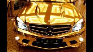 golden ferrari with diamonds golden cars of dubai sheikhs youtube