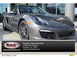 porsche agate grey 2014 porsche boxster s in agate grey metallic 140802 auto