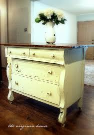 the virginia house old dresser u003d kitchen island