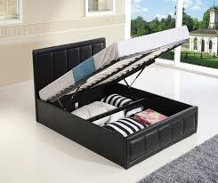 Ottoman Storage Beds Uk by Small Double Bed Frame Ft Uk Size With Beds Storage Arttogallery Com
