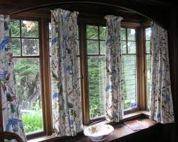 bay window pics with elegant brown wooden window frame and