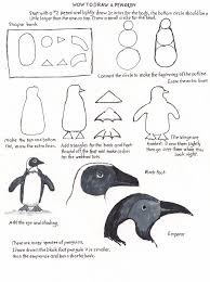 How To Make Worksheets How To Draw Worksheets For The Young Artist How To Draw A Penguin
