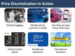 topical examples of price discrimination tutor2u economics