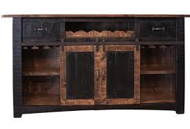 Distressed Wood Bar Cabinet Rustic Wooden Liquor Cabinets Crafters And Weavers