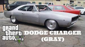 how to build a dodge charger gta 5 fast and furious 7 car build dodge charger gray silver