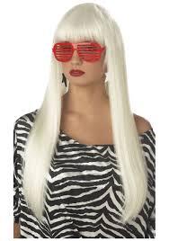 lady gaga halloween costumes pop angel wig lady gaga costume wigs