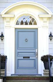 blue front doors what does a bright door mean brightly painted
