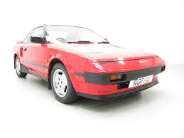 an original toyota mr2 with two owners 52 233 miles and main