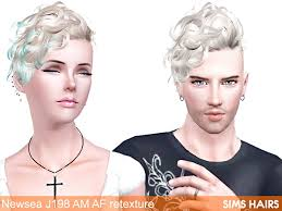 sims 3 african american hairstyles newsea j198 black bullet am af hairstyle retextures by sims hairs