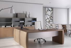bureau angle professionnel bureau de direction en bois contemporain professionnel charmant
