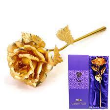 new creative birthday wedding gif 24k manual golden rose lover u0027s