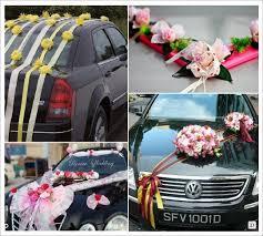 kit dã coration voiture mariage decoration voiture mariage ruban fleurs déco voiture
