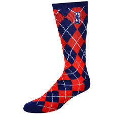 mens nba logo navy blue day socks nba store