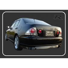 lexus altezza car lexus is200 altezza trd rear lip