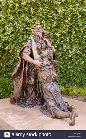 bronze sculpture of prodigal son crystal cathedral california