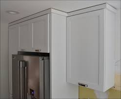 How To Install Kitchen Cabinets Crown Molding by Kitchen Crown Molding On High Ceilings Crown Molding Fireplace