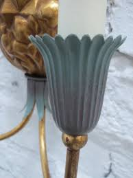 Pineapple Light Fixtures Pineapple Sconces 1960s Set Of 2 For Sale At Pamono