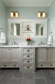 Bathroom Slate Floor Houzz Intended For Elegant Home Tile Remodel - Elegant white cabinet bathroom ideas house