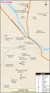 Gujarat Blank Map by Palitana City Map City Map Of Palitana