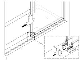 Kohler Bathtub Shower Doors Levity Bath Shower Door Center Guide Replacement