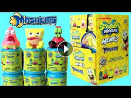 Spongebob Squarepants Memes - spongebob mashems memes case blind bag new 2017 mystery capsules