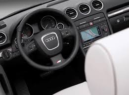 audi a4 cabriolet 2006 2009 features equipment and