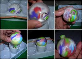 rad linc crafts marble painted glass ornaments
