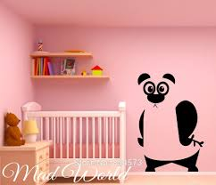 Decoration Kids Wall Decals Home by Online Get Cheap Panda Bears Wall Stickers Aliexpress Com