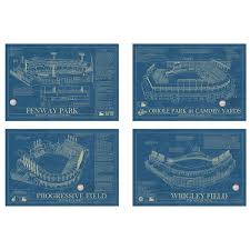 baseball stadium blueprints baseball stadium art fenway park
