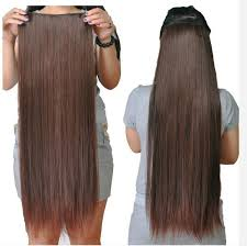 24 inch extensions 30inch 24inch synthetic 5 clip in hair extension black