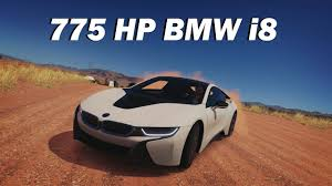 bmw i8 slammed extreme power no handling autocross 2015 bmw i8 forza