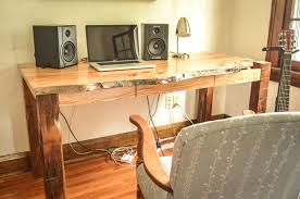 live edge desk with drawers hand crafted live edge ash desk by heritage wood co custommade com