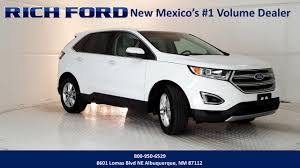 ford crossover 2016 used vehicle inventory rich ford sales inc in albuquerque